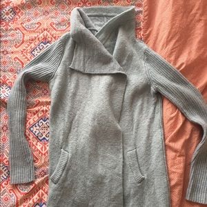 gorgeous light blue anthropologie sweater